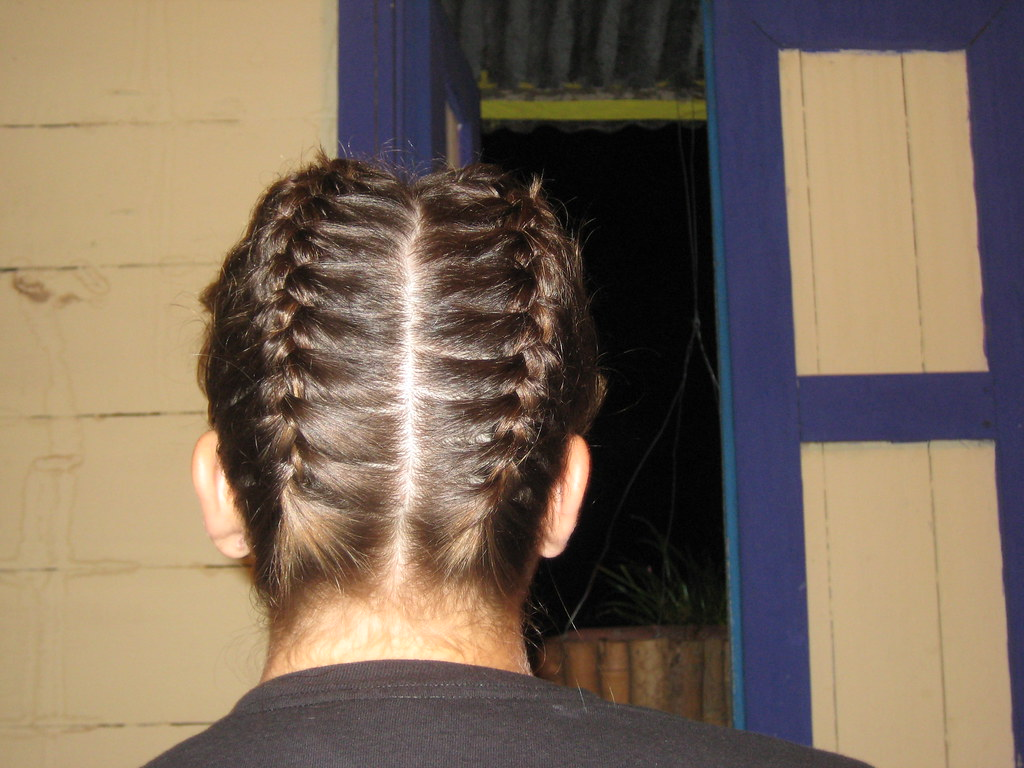 My Hair Braided Upside Down Chiconurs24 Flickr