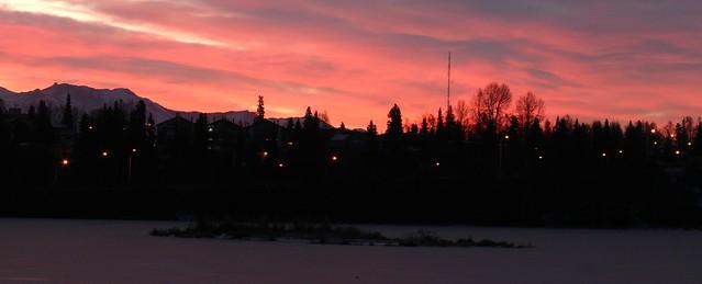 Sunrise at Westchester Lagoon