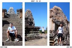 2007-12-21   Cambodia - 091 Pre Rup and Bernard 3x2 portrait
