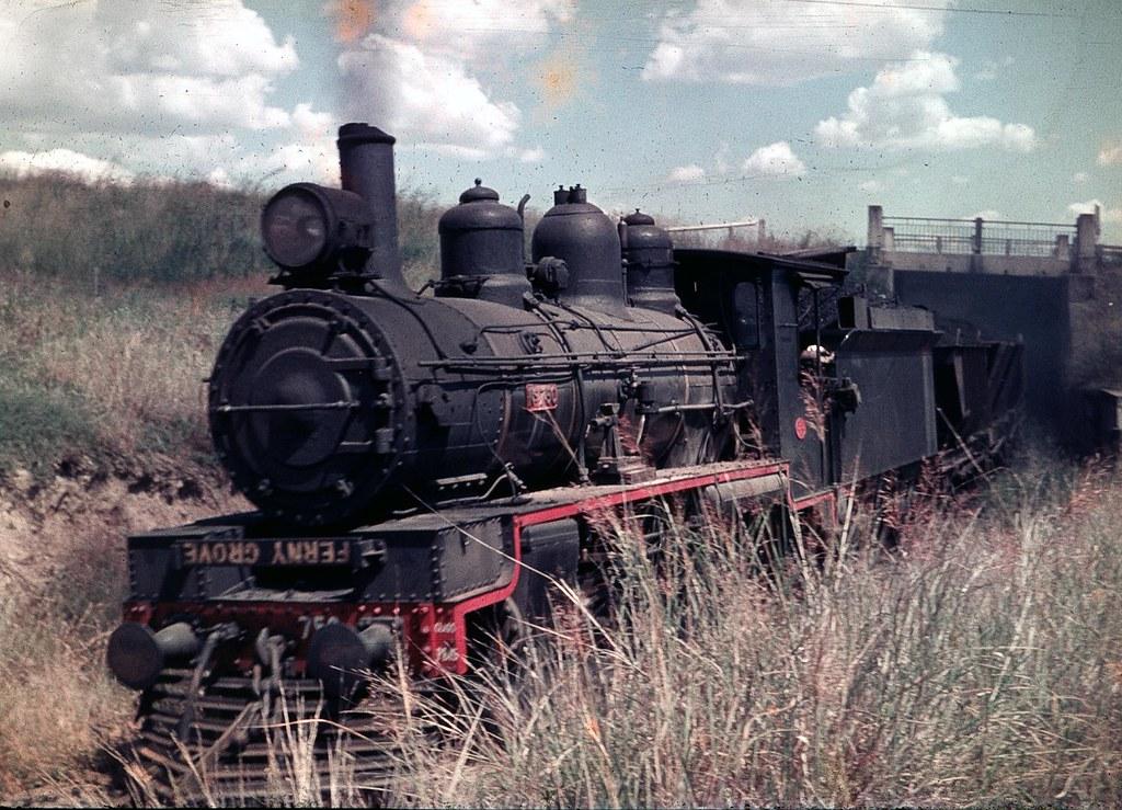 PB15 with coal hoppers by Leonard J Matthews