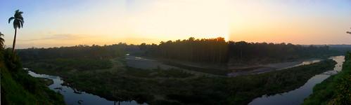 sunset panorama river landscape dusk cuba palmtree stitched bayamo riobayamo 0tagged set:name=200801cuba