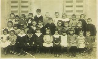 École Maternelle d'Orgelet en 1920
