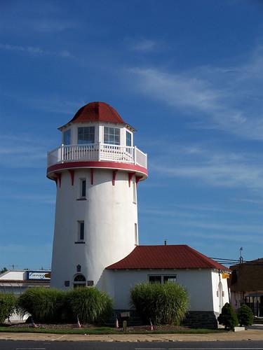 lighthouse newjersey nj shore brigantine seashore trafficcircle