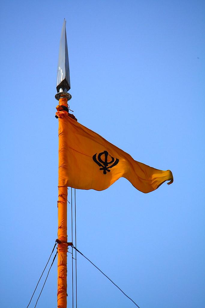 Red Fort Violence khalistan flag