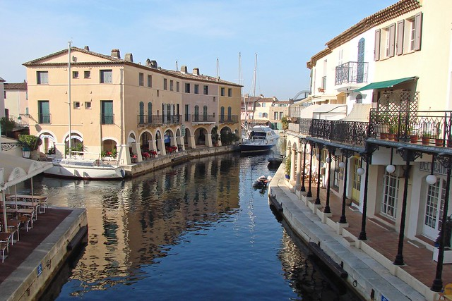 Port Grimaud - not Venice!