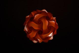 Fire Ball Orange in the Dark | by Javier Volcan