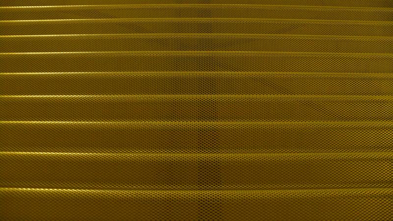 Aluminium waves.