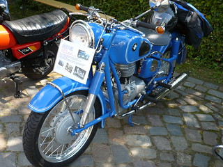 Historic Motorcycle: BMW R 26, 1959