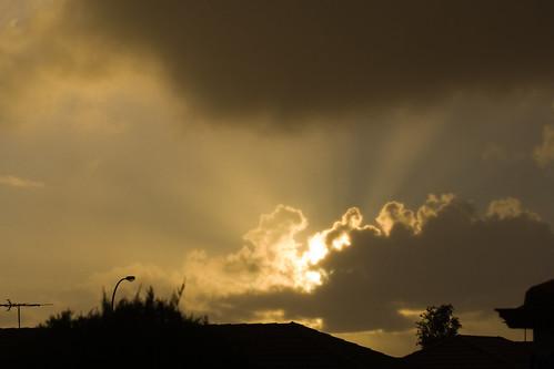 sunset rain australia adelaide soe