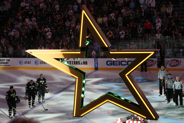 Dallas Stars vs. Anaheim Ducks October 20, 2007
