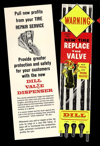 1963 Dill Tire Valve Ad | by Neato Coolville