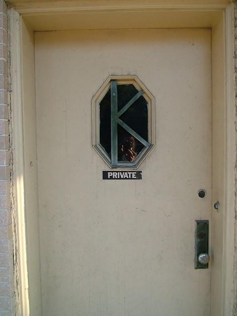 Letter K Window Bar