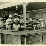 Irene Morris Johnson Teaching Home Economics at Wilberforce University, 1922