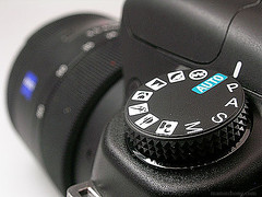 Sony A200 Shooting Mode Dial | by IvanImages