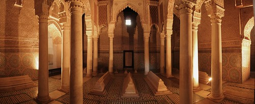 Saadian Tombs, Marrakech | by frankdouwes