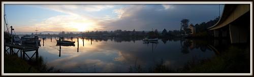 bridge sunrise boats launceston tamarriver