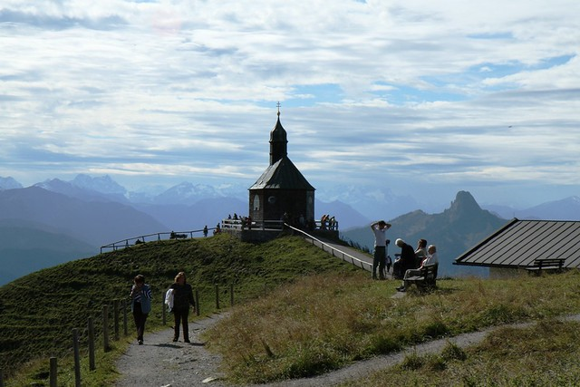 A View at the Kirchen from Panorama