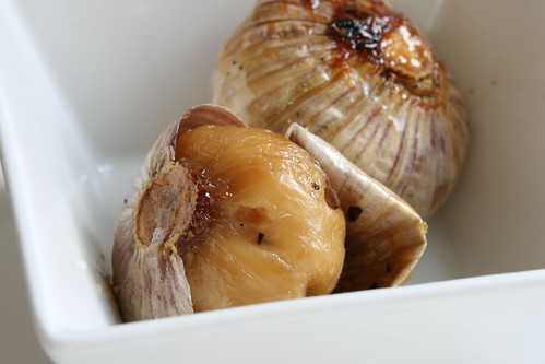 Easy to Spread Roasted Garlic - One Clove Per Head   by Sunday Nite Dinner