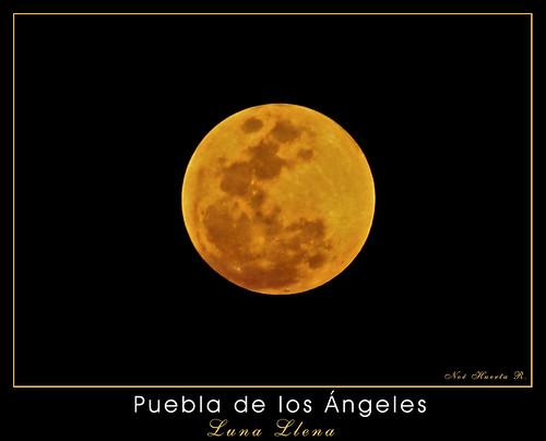 Luna llena Amarilla...