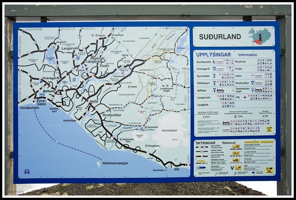 Sudurland Map 1 Sudurland Kort 1 Map It Google Earth Flickr