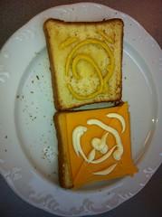 "The famous ""Paul sandwich"". @kalupa"