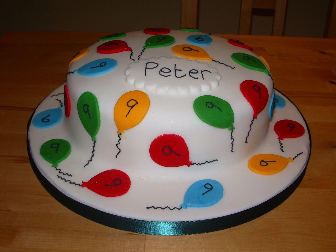 Peter's Birthday Cake - 2