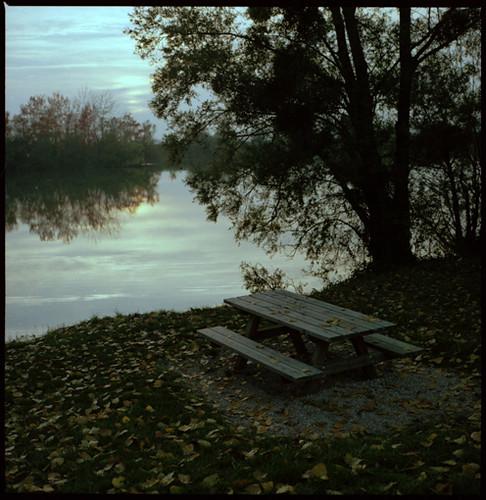 sunset lake fall automne dijon burgundy bronica bourgogne coucherdesoleil zenza crimolois