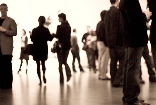 MoMA crowd  2/2008 | by Susan NYC