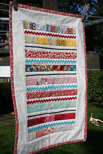 First Doll Quilt | by melmelmel