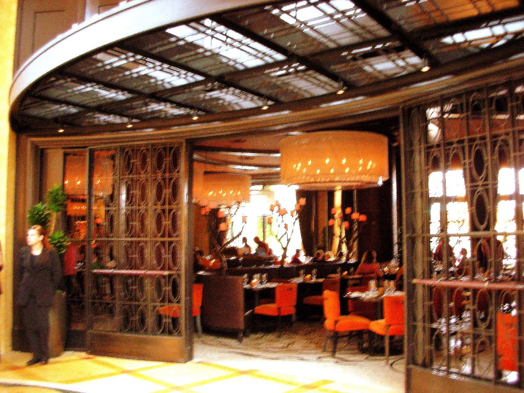 Upscale Restaurant In Bellagio Las Vegas On Tuesday Jun