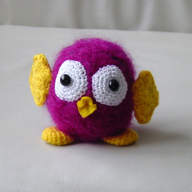 How to Make a Cute Amigurumi Crochet Owl | 640x640