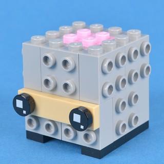 The anatomy of a BrickHeadz | by Brickset