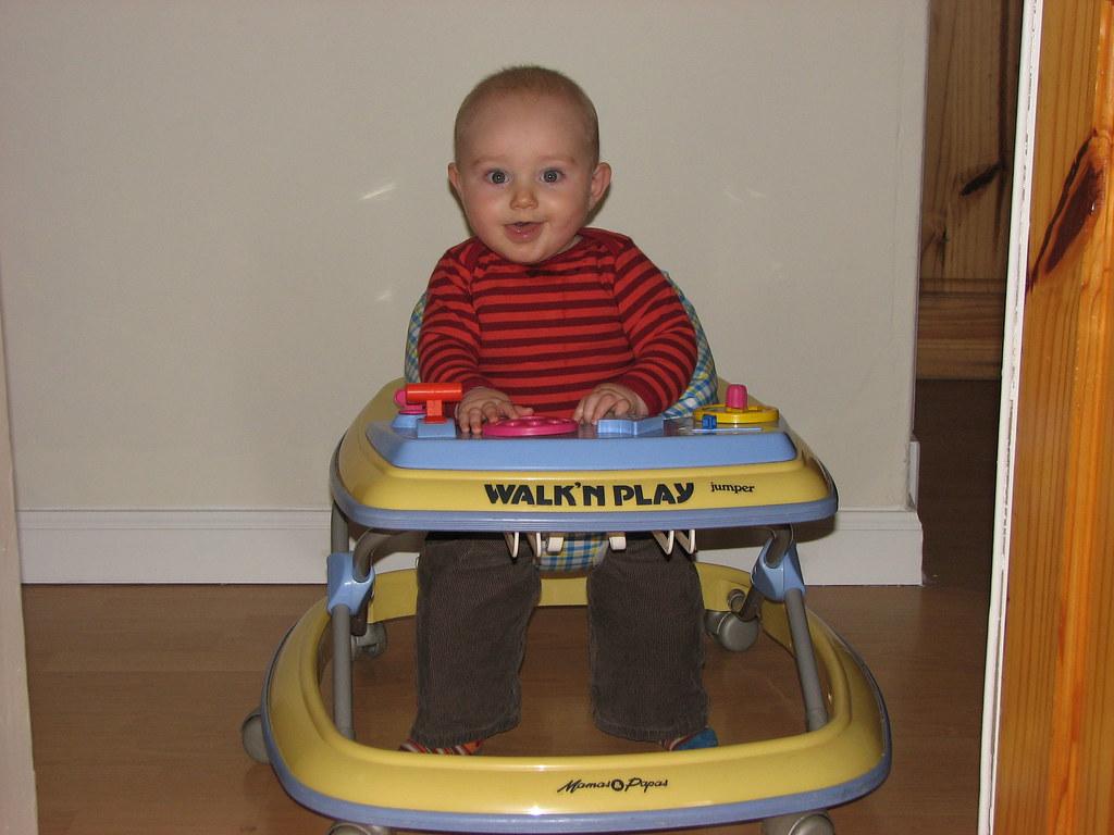 Owen in his Baby Walker