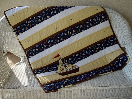 sailboat quilt | by becauseimme