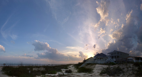 Sunset Panorama Crop