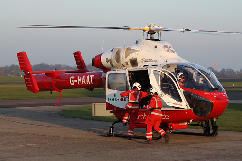 MD902 Explorer G-HAAT - Hertfordshire Air Ambulance - North Weald, February 2017 | by StrikeEagle492