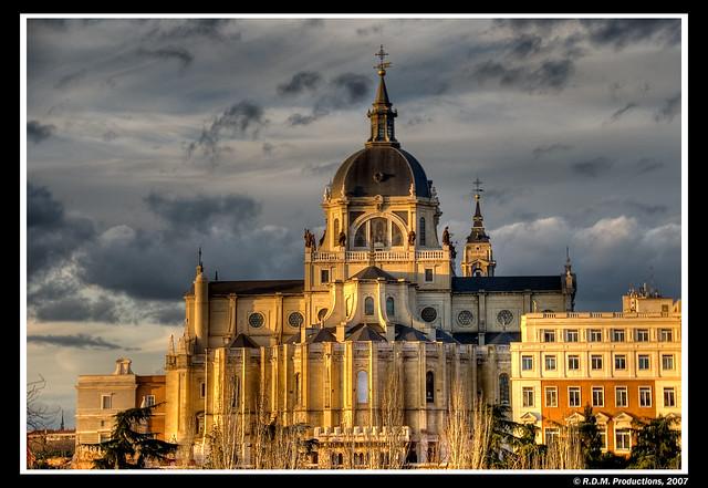 La catedral y el cielo - HDR