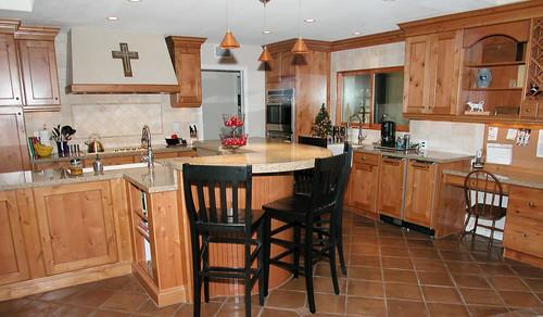 Family Kitchen | by NancyHugoCKD.com