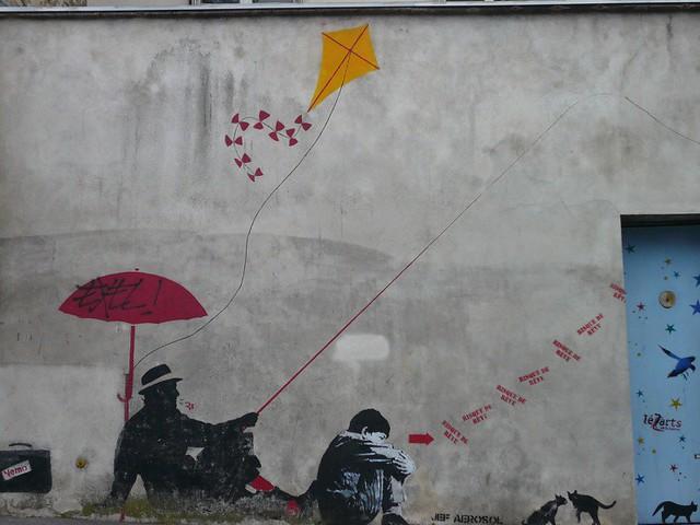 StreetArt by Nemo, Paris, France