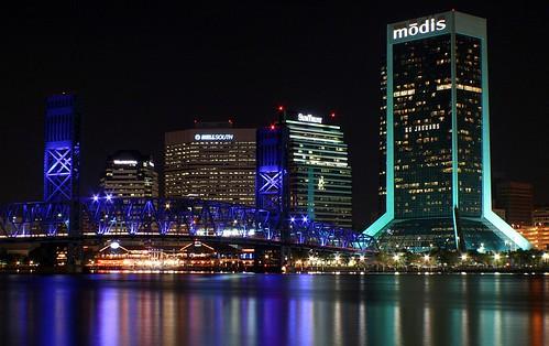 Jacksonville Lights Up | by minds-eye
