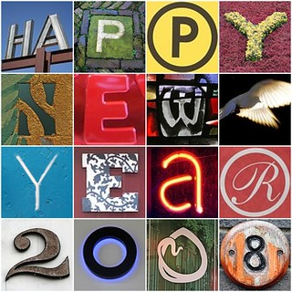New Year Mosaic 2008 | by maplemama