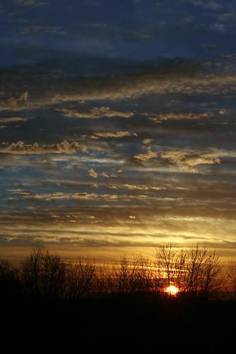sunset ohio sky usa night clouds paint apartment balcony late distance cuyahogafalls geotaggedohio naturessilhouettes