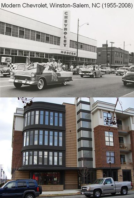 Modern Chevrolet Winston Salem Nc >> Modern Chevrolet Winston Salem Nc Then And Now 1955 And