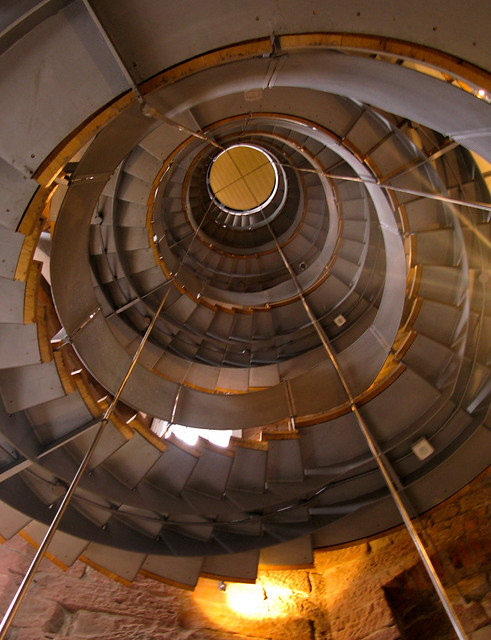 Glasgow Lighthouse spiral