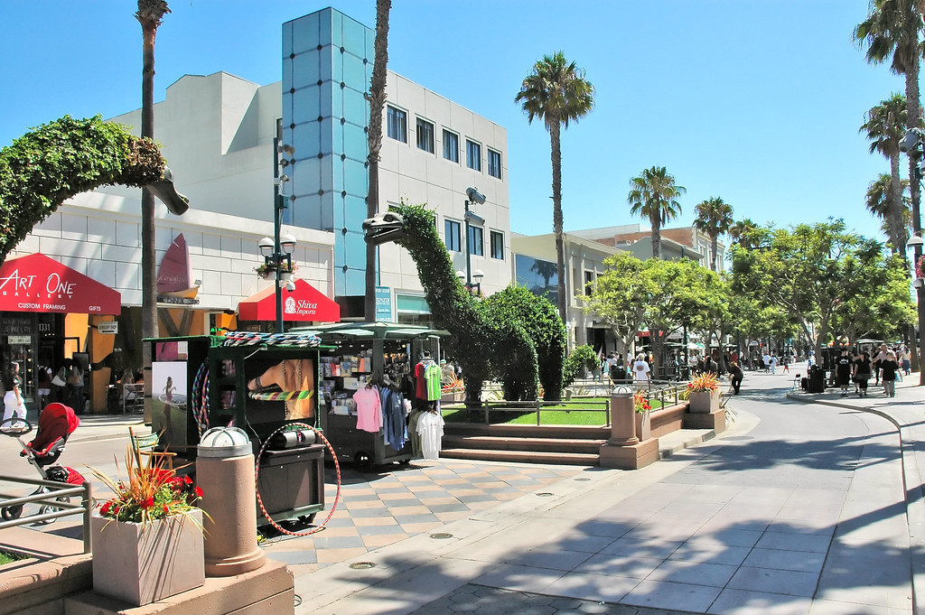 Third Street Promenade >> Third Street Promenade At Santa Monica Sylvain Leprovost Flickr