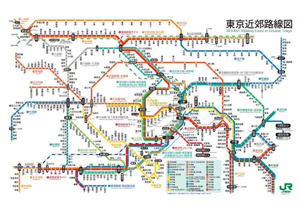 東京 路線 図