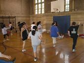 Muevete Aerobics in HP Fieldhouse