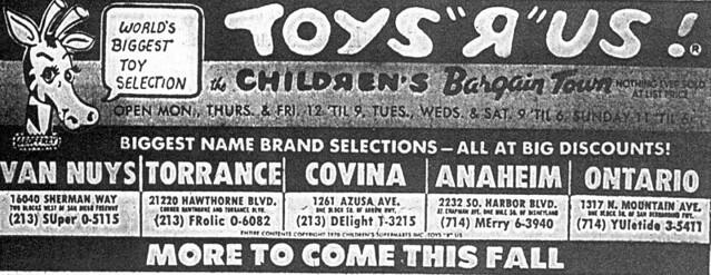 ToysRus Southern California