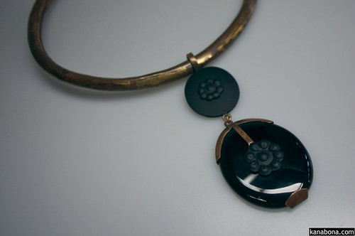 A Black Onyx Pendant by Pure Passion Jewelry | by shehal