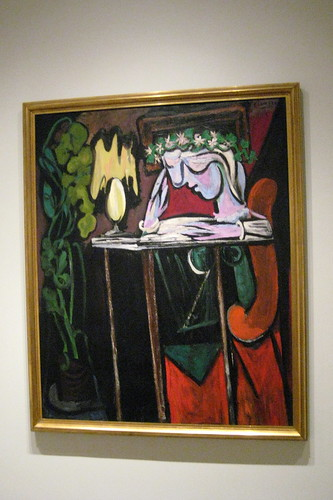 NYC - Metropolitan Museum of Art: Pablo Picasso's Girl Reading at a Table | by wallyg